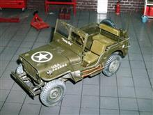 ITALERI Willys Jeep 1/4ton ④