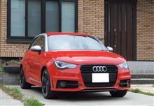 Audiに乗換しました。