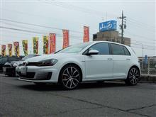 ブレーキダスト対策...VW ゴルフⅦ GTI クランツ製ジガベーシック