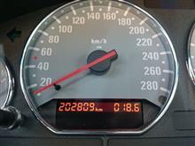 202809-202251=558km/2week