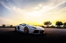 Lamborghini Aventador PV完成しました♪