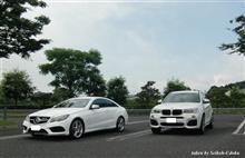 念願の「空の展望所」に... by Mercedes-Benz & BMW。 BMW X3のここが好き...