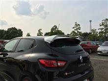 日曜日は…洗車で始まり、洗車で終る…そして、ルーテシア4RS専用リアスポイラー
