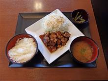 新名神高速下り甲南PA トンテキ定食820円
