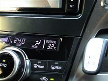 今日の昼間は暑かった!
