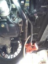 Z33  ATF クーラー洗浄