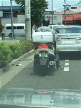 二輪車にも緑ナンバーがあったんですね。