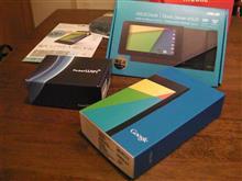 スマホじゃないのよ(Nexus7とポケットWi-Fi)