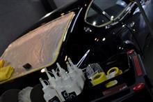 S30Z コーティング施工3日目 下地処理完了