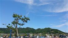 らぐ☆ミ会場綺麗な青空が晴れ渡っております。(^-^)