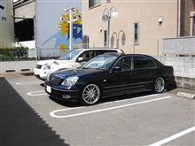 オフ会後の洗車