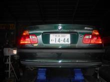 BMW328 ハブベアリング交換☆