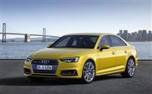 Audi A4 新型発表♪