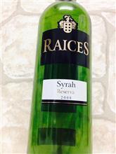 RAICES Syrah Reserva (ライセス シラーレセルバ)