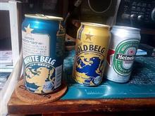 今宵は舶来ビールで (^^ゞ