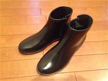 紳士靴風レインブーツ購入