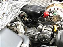 Defi C2_油温油圧ブースト計_オイルブロック無しで設置/その4_油圧センサ装着