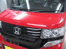 NBOX ボディガラスコーティング アークバリア21施工 愛知県豊田市 倉地塗装 KRC