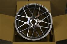 今日のホイール MRR Design GF7(MRRデザイン) -BMW F30 M-Sport用-