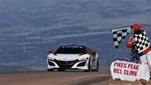 Acura - NSX Sets the Pace at Pikes Peak