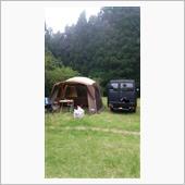 昨日からキャンプ!