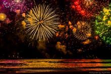 花火で梅雨を追っ払え!湯河原海上花火大会