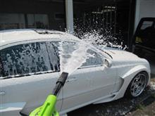 MKB E55RS 洗車中