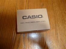 初代アナログG-SHOCK(AW500)電池交換しました。