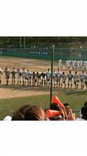 今日の岐阜県高校野球予選大会決勝です。