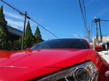 86と太陽と…洗車、夏✦