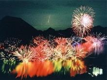 2015、「 榛名湖・水中花火大会 」 ~ ♪