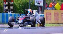 F1ハンガリーGPでのアロンソさん ( レース結果は書いてないよ )