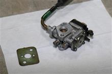 草刈り機のエンジン キャブレター分解