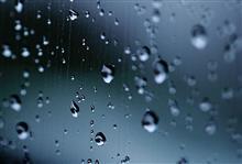 雨が降ると...