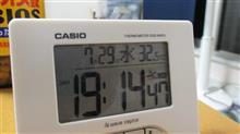 今日も暑い(;´Д`)