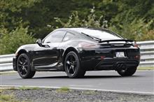 ★ケイマン/ボクスターのフェイスリフト版。GTSモデルは370馬力を発生か