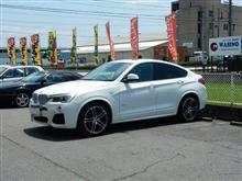 トータルアライメント調整...BMW X4 3.5 H&Rサスペンション