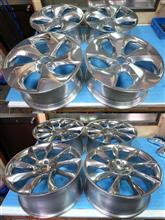 BMW&ロリンザー20インチ/バレル3次元研磨パウダーアクリルクリアー&パウダースモークブラック