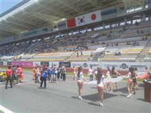 日中韓モータースポーツフェスティバル 練習~レース編。