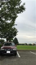 洗車 時々 小雨
