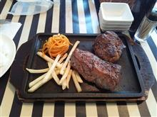 熟成牛のサービスステーキ