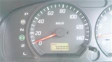 通勤急行ワゴンRが70000キロになりました。