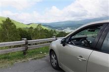 軽井沢から車山へ