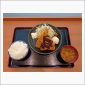中国道上り赤松PA アジフライ定食670円」はがねいちのブログ ...