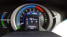 100,000km超えました!