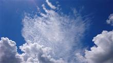 空の写真。