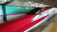 新幹線に乗って(^-^)