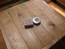 DIYでテーブル作成~いい感じでようやく完成♪