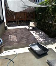 庭工事、進捗状況