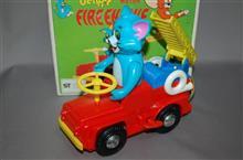 増田屋、トムとジェリー、ゼンマイ走行 消防車